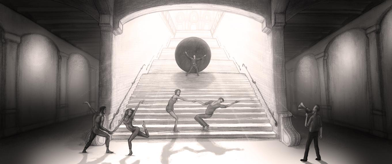 Schets Sisyphus 08 Stedelijk
