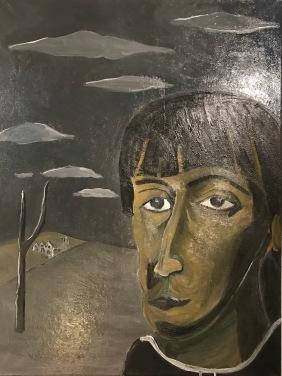 Saint Salvador painting